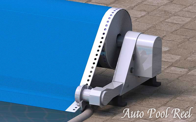 Automatic Pool Reel Cover